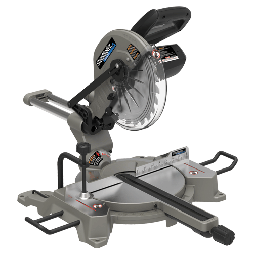 ShopMaster S26-261L 10in. Sliding Compound Miter Saw With Laser cut-line indicator