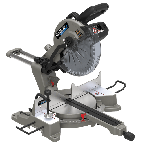 ShopMaster S26-271L 12in. Sliding Compound Miter Saw with Laser cut-line indicator